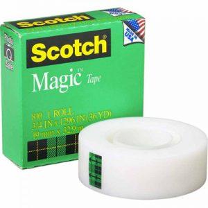3M 思高®牌神奇隱形膠紙 810, 3M Scotch 810 Magic Tape