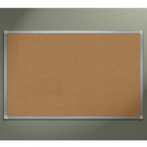 鋁邊 單面 水松板, Aluminum Frame Single side Cork Board
