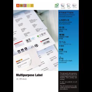 Aneos 多用途打印標籤, Aneos Multipurpose Label