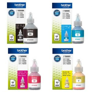 BROTHER BT5000 C,M,Y 彩色墨盒(極高容量), BROTHER BT5000 C,M,Y Ink Cartridge
