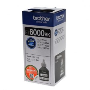 BROTHER BT6000BK 黑色墨盒(極高容量), BROTHER BT6000BK Black Orignal Cartridge