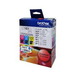 BROTHER LC161 彩色墨盒套裝, BROTHER LC161CL 3PK INK CARTRIDGES