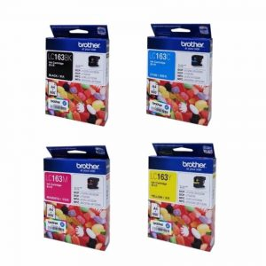 BROTHER LC163 套裝墨盒, BROTHER LC163 (Value Pack) Ink Cartridges