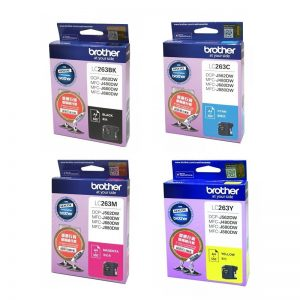 BROTHER LC263 墨盒套裝, BROTHER LC263 (Value Pack) Ink Cartridges