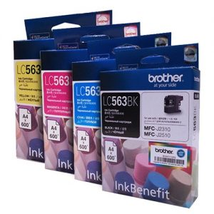BROTHER LC563墨盒, BROTHER LC563 Ink Cartridges