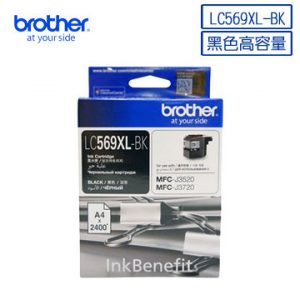 BROTHER LC567XL 黑色墨盒, BROTHER LC567XL-BK Ink Cartridges