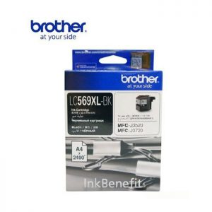 BROTHER LC569XL 黑色墨盒, BROTHER LC569XL-BK Ink Cartridges