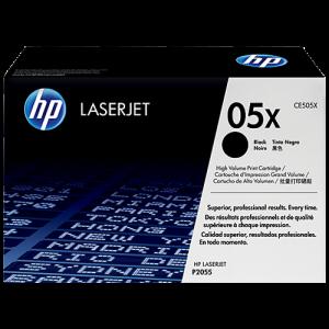 HP 05X 高容量黑色原廠 LaserJet 碳粉盒 (CE505X), HP 05X Original LaserJet Toner Cartridge (CE505X)