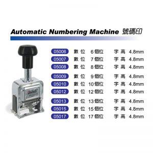 Deskmate Numbering Machine