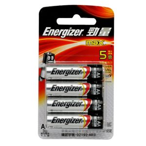 勁量 AA 電芯, Energizer MAX AA Alkaline Batteries