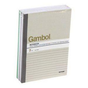 Gambol G5807 A5 單行簿, Gambol G5807 A5 Notebook