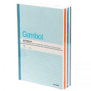 Gambol G6807 B5 單行簿, Gambol G6807 B5 Notebook