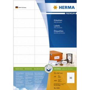 Herma 多用途打印標籤, Herma Multipurpose Label
