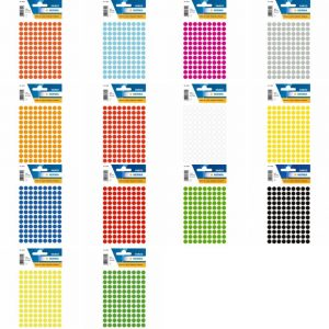 Herma Colour 8mm label 標籤, Herma Colour 8mm label