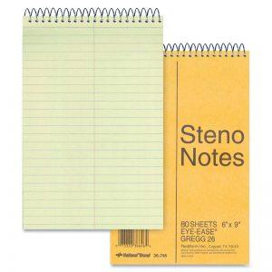 National 速記簿, National Steno Notebook