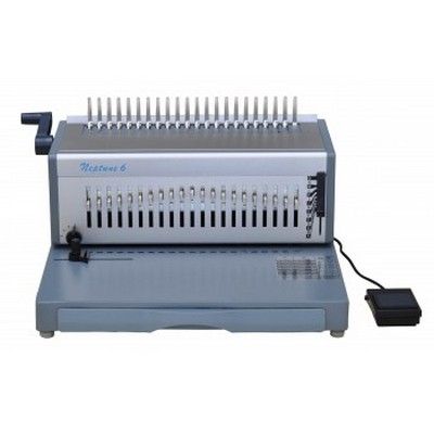 Neptune 6 電動 膠圈裝訂機 (450張), Neptune 6 Electronic Plastic Comb Binding Machine