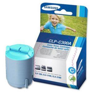 Samsung CLP-C300A 原裝藍色碳粉盒 (1K), Samsung CLP-C300A Toner Compatible