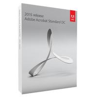 Adobe Acrobat Standard DC (perpetual) 2015 -AOO License