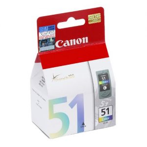 CANON CL51 彩色墨水盒, CANON CL51 Ink Cartridges