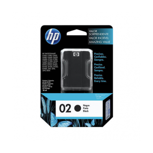 HP 02 原廠墨水匣, HP 02 Black Original Ink Cartridge