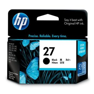 HP 27 黑色原廠墨盒, HP 27 Black Original Ink Cartridge