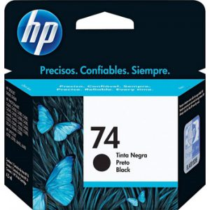 HP 74 黑色原廠墨盒, HP 74 Black Ink Cartridge