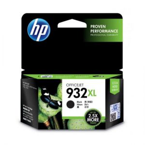 HP 932 黑色原廠墨盒, HP 932 Black Original Ink Cartridge