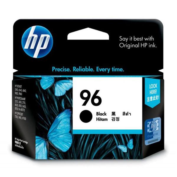 HP 96 黑色原廠墨盒, HP 96 Black Original Ink Cartridge