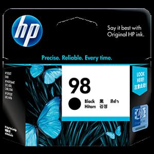 HP 98 黑色原廠墨盒