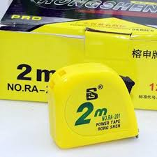 RONG SHEN 2M 鋼拉尺, RONG SHEN 2M Steel Measuring Tape