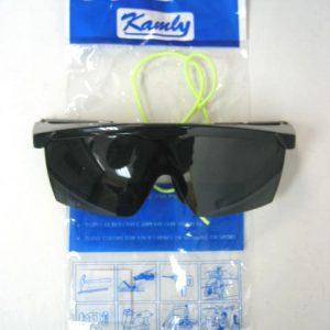 金利 KAMLY X132002 黑色護目眼鏡(帶繩) 藍框黑框
