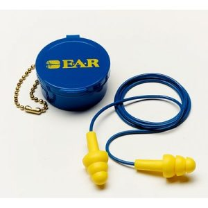 3M™ 340-4002 可重複使用式帶線耳塞( 附收藏盒)