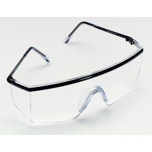 3M 1710 防護眼鏡(黑框透明鏡)