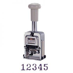 MAX N-504(BB) 號碼機(5位數)