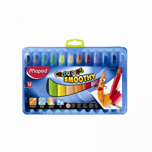 Maped 馬培德 12色絲滑炫彩筆 12 Colors'Peps Smoothy Crayon