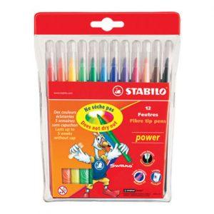 STABILO 28012-01 12色水彩筆