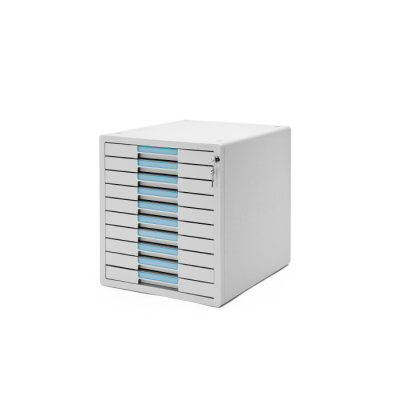 SYSMAX 1210K 十層桌上型有鎖文件櫃, SYSMAX 1210K Key File Cabinet 10 Drawer