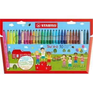 Stabilo Trio A-Z Fibre Pen 378-1-30-01 三角水彩筆-230色(0.7mm)