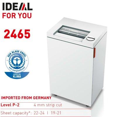 IDEAL 2465 條狀碎紙機, IDEAL 2465 Strip cut shredder