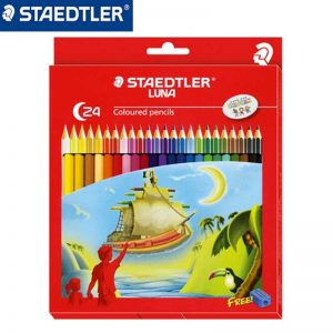 STAEDTLER 136 C24 木顏色筆24色, STAEDTLER 136 C24 Permanent 24Colour