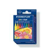 STAEDTLER 220 NC24 幼蠟筆24色, Staedtler 220 NC24 Noris Club Wax Crayon (Pack of 24)