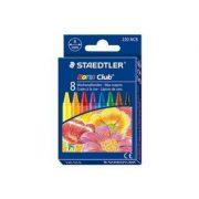 STAEDTLER 220 NC8 幼蠟筆8色, STAEDTLER Noris Club® 220 Wax crayon STAEDTLER 220 NC8