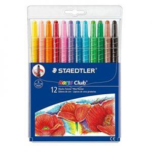 STAEDTLER 221 NWP12 旋轉蠟筆12色, STAEDTLER 221 NWP12 Wax Twister 12 Colour