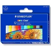 STAEDTLER 241 NC12 油粉彩12色, STAEDTLER 241 NC12 Oil pastel crayon Cardboard box containing 12 oil pastel crayons in assorted colours