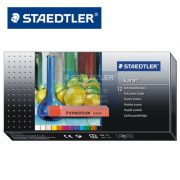 STAEDTLER 2430 C12 乾粉彩12色, STAEDTLER® 2430 Soft pastel chalk C12 Cardboard box containing 12 soft pastel chalks in assorted colours