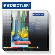 STAEDTLER 2430 C24 乾粉彩24色, STAEDTLER 2430 Soft pastel chalk C24 Cardboard box containing 24 soft pastel chalks in assorted colours