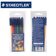 STAEDTLER 326 WP6 防乾水彩筆6色, STAEDTLER 326 WP6 Fibre-tip pen