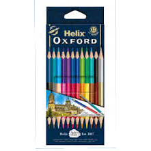 HELIX OXFORD 829223 木顏色 (12色), HELIX OXFORD 829223 COLOURING PENCILS (12 COLOURS)