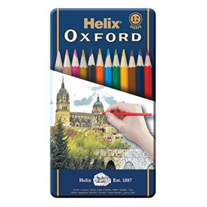 HELIX OXFORD 833420 木顏色 (12色), HELIX OXFORD 833420 COLOURING PENCILS (12 COLOURS)
