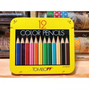 TOMBOW BCA-151 顏色筆 12色, TOMBOW BCA-151 COLOR PENCIL (12 COLOR)